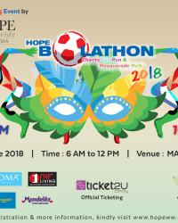 Bolathon E-invite poster