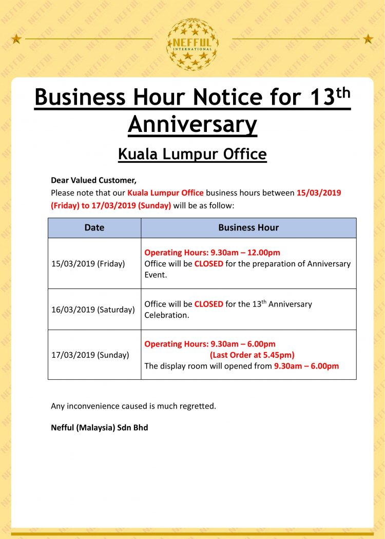 (ENG) Anniversary_Kuala Lumpur Office Business Hour Notice-page-001