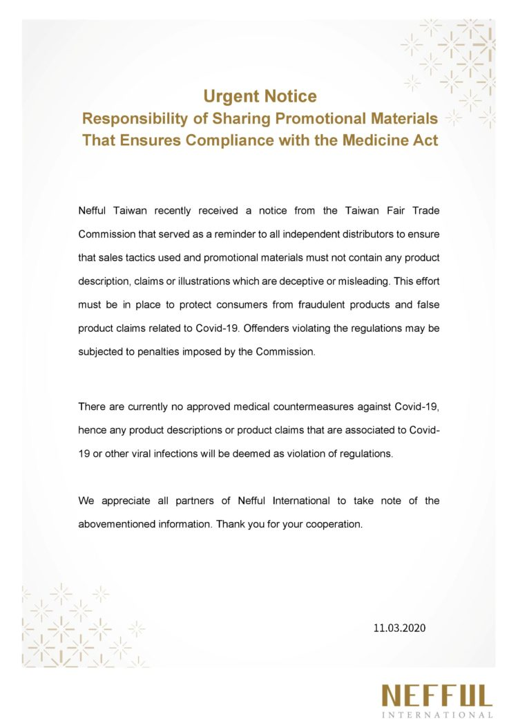 Responsibility of Sharing Promotional Materials That Ensures Compliance with the Medicine Act