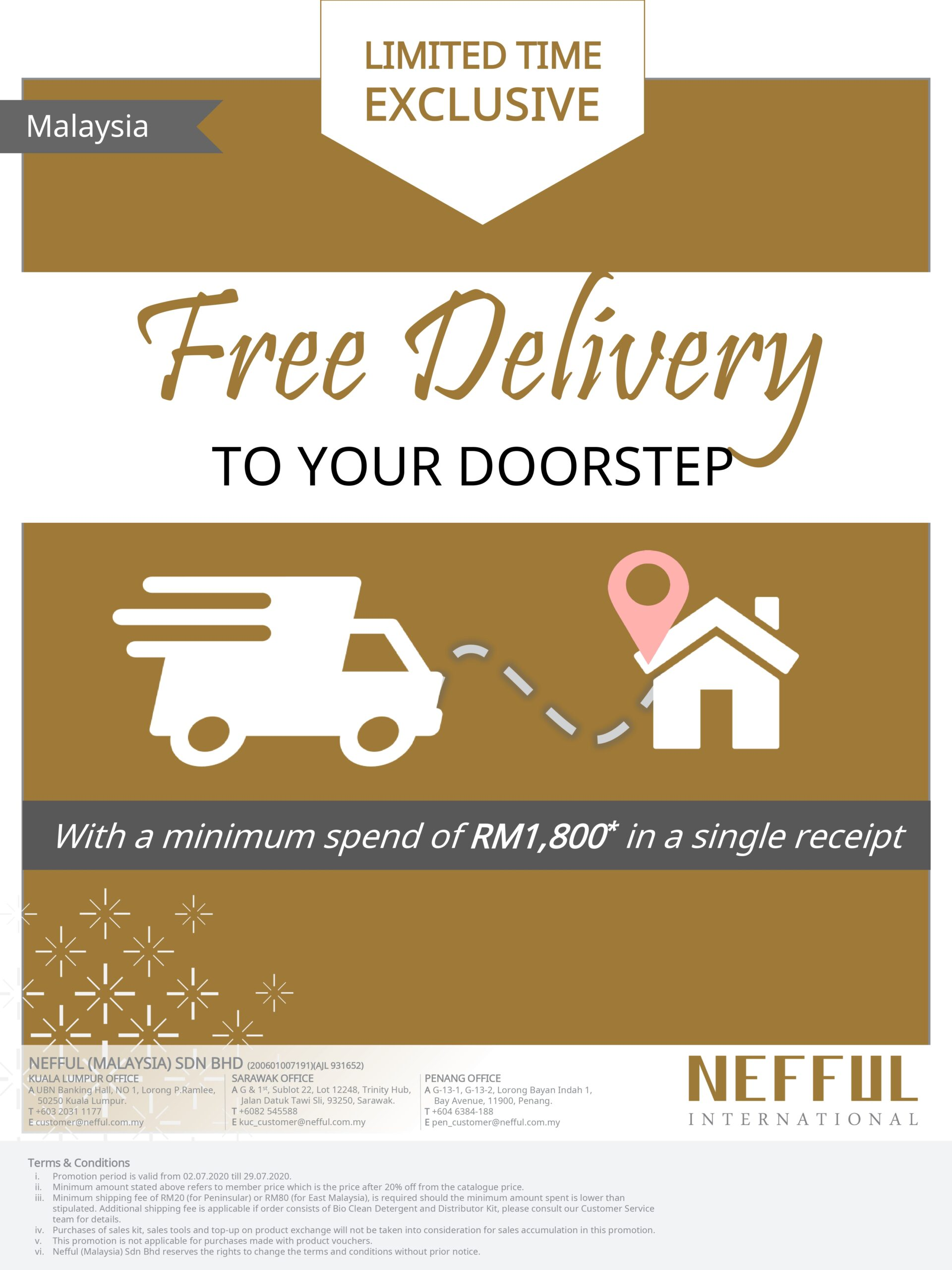 Free Delivery DM-EN