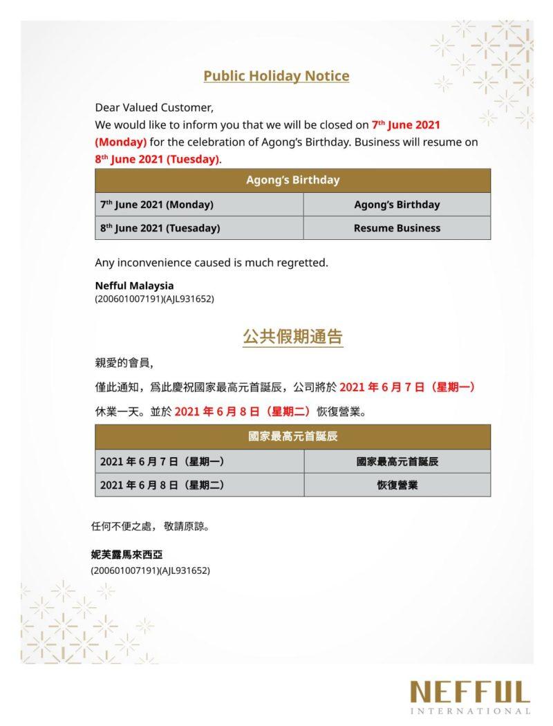 Agong's Birthday 0706